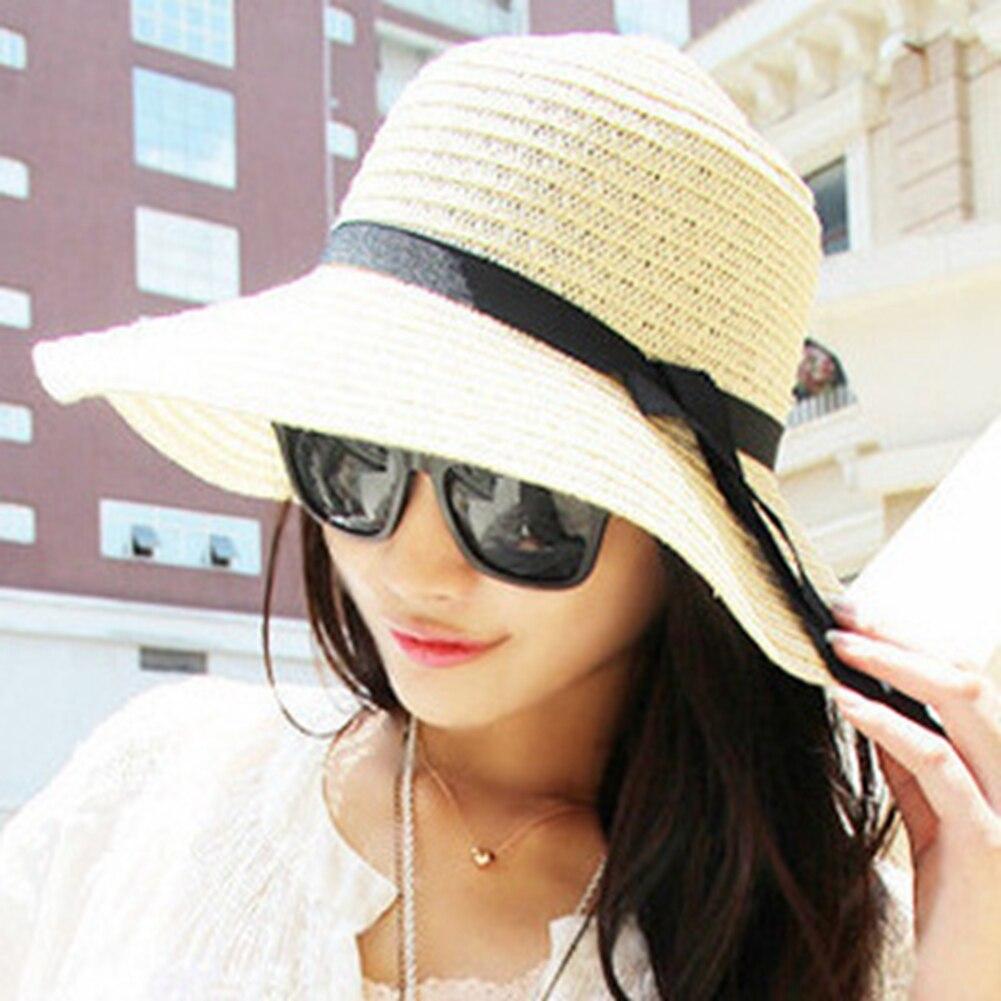 UnermüDlich Mode Sunproof Frauen Sonne Kappe Dame Einfache Casual Stroh Eimer Hut Hindernis Entfernen Eimer-hüte Kopfbedeckungen Für Damen