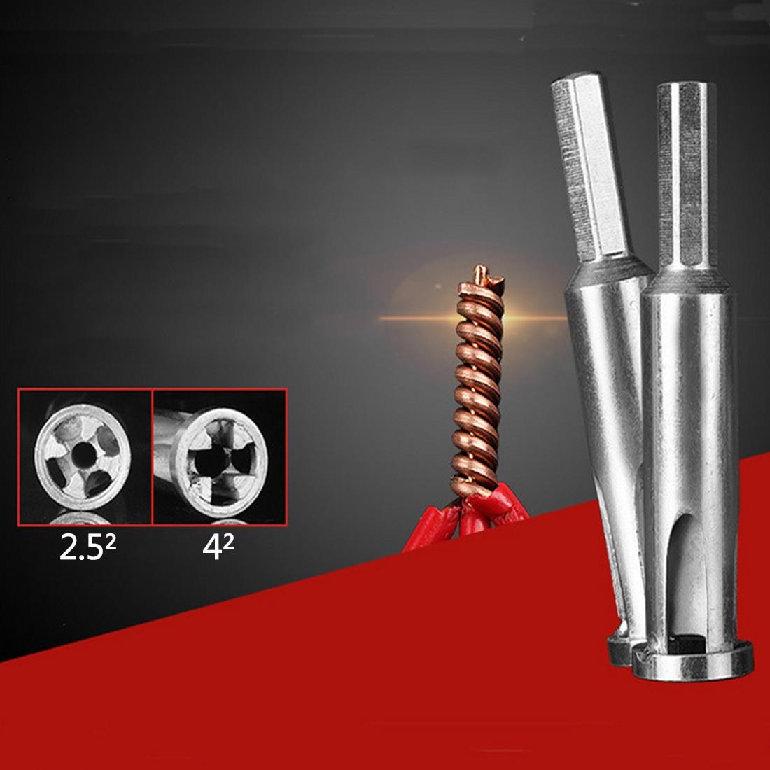 Handwerkzeuge Werkzeuge Geschickt 1 Pc Automatische Twist Stecker Elektrische Linie Gerät Kabel Draht Stripper Abisolierzange Automatische Strippen Verdoppelung Maschine Das Ganze System StäRken Und StäRken