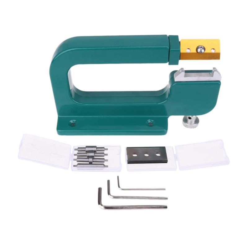 Leather Splitter Aluminum Leather Splitter Paring Device Leather Skiver Peeler Leather Tool Sewing Mechine DIY Leathercraft