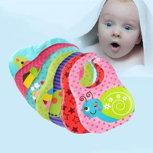 Super Soft Sponge Inter-Lining Three-dimensional Waterproof Disposable Eating Bib for Baby