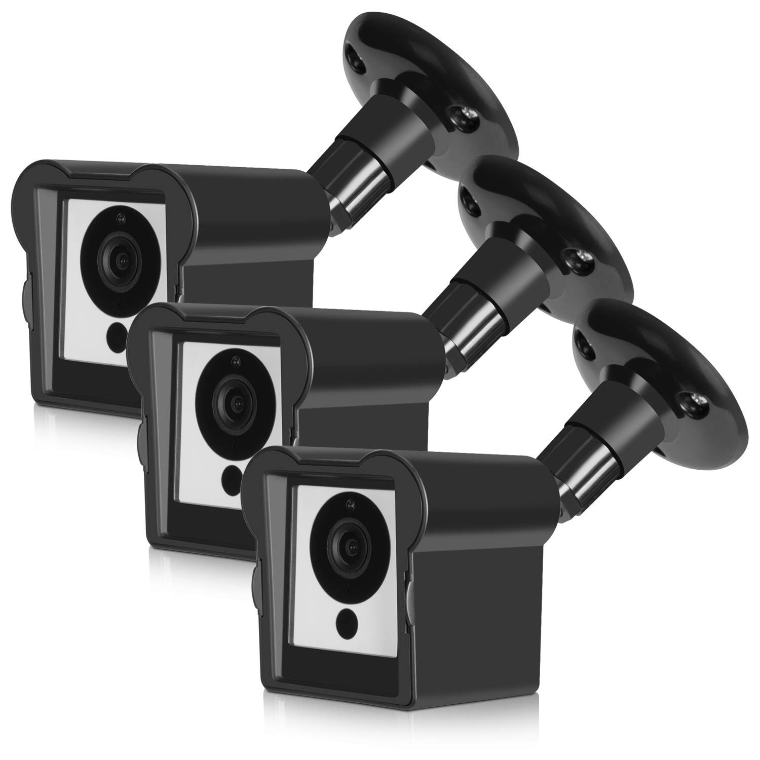 Wall Mount Bracket for Wyze Camera 3 pcs 360 Degree Indoor