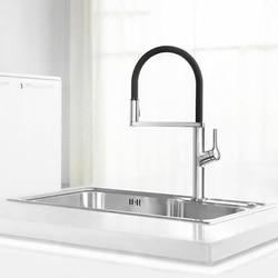New Dabai U-Yue Kitchen Intelligent Sensor Switch Faucet 300 Rotating Arm Universal Tube Water Kitchen Stensils Sensor Faucet