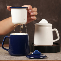 Novelty Ceramic Mug Teacups Heat resistant Cup Milk Juice Lemon Coffee Mug Porcelain Wine Beer Tea Cup Bottle Tea Accessories