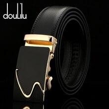 Мужские ремни из натуральной кожи с автоматической пряжкой, черные винтажные Дизайнерские мужские джинсы, роскошный брендовый ремень, высокое качество, мода