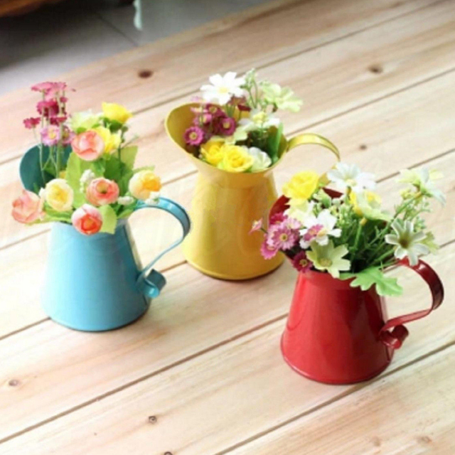 toyofmine Home Party Decoration Jug Dried Flowers Wedding