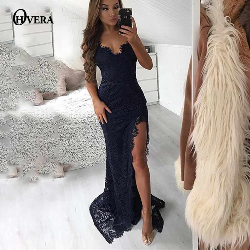 68de3b49ff812 Detail Feedback Questions about Ohvera Sequin Maxi Dress Women Sexy ...