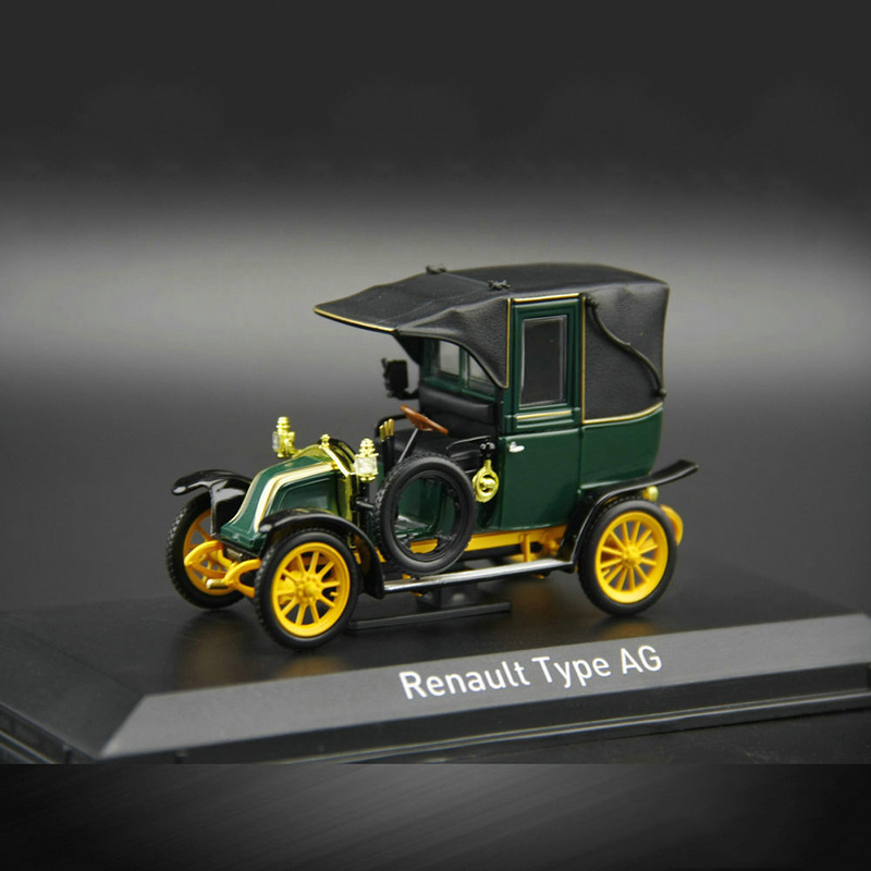 1:43 Type AG Vintage Car Replica Diecast Collection Toy Cars For Children Adults Kids