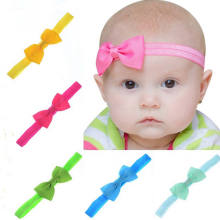 Pudcoco Mother Baby Hair With Butterfly Velvet Baby Cute Hairband Headwear Solid Color(China)