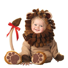 Cute Lion Costume Cosplay Toddler Baby Animals For Kids Children Halloween