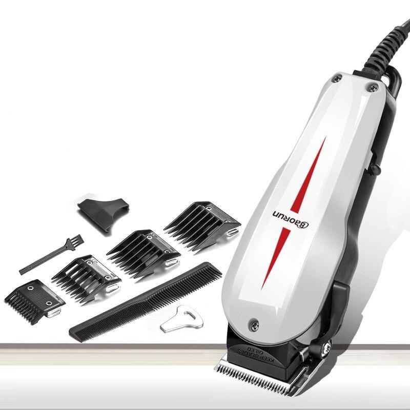 Pro électrique tondeuse à cheveux barbe rasoir tondeuse toilettage lame tranchante à faible bruit 220 V accessoires de coiffure