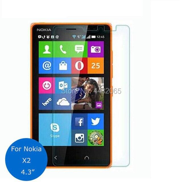Para Nokia Protetor de Tela de vidro Temperado 0.26 milímetros 9 X2 h Segurança pelicula Película Protetora sobre X2 Cover Dual Sim de vidro Guarda