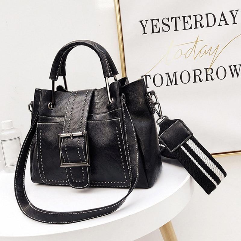 Di Benna Le Bag Modo Black borse brown Dell'unità Pelle Sacchetto Borse Dell'annata pink In Crossbody Donne Elaborazione Beau Della Per Spalla 1E7IT1q