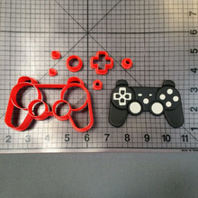 Play Game controller Cookie Cutter set Cake Baking Mould Custom Made 3D Printed Set Fondant Molds