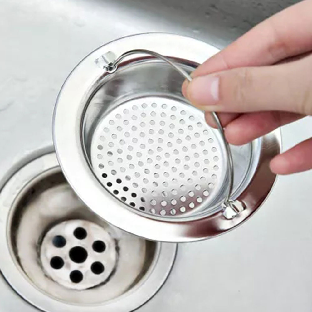 Home Improvement Sea Shell Sink Drain Strainer Hair Catchers Rubber Shower Bathtub Floor Filter Silicone Bathroom Kitchen Cute Deodorant Plug Red Drains
