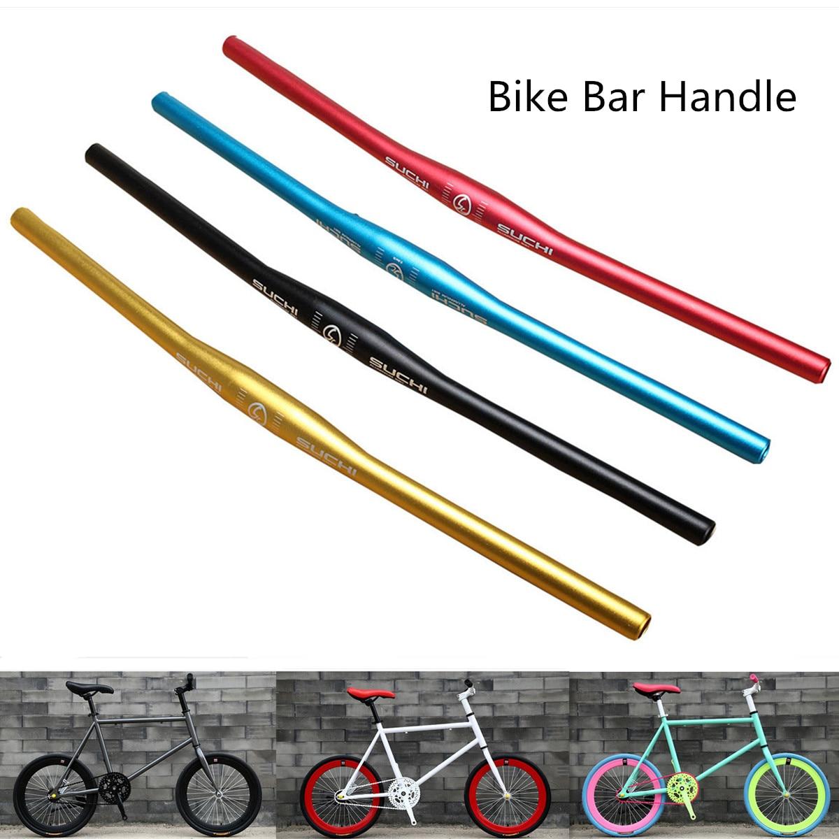 Bicycle Handlebar 620mm Aluminum Alloy MTB Mountain Bike Flat Parts For 31.8mm