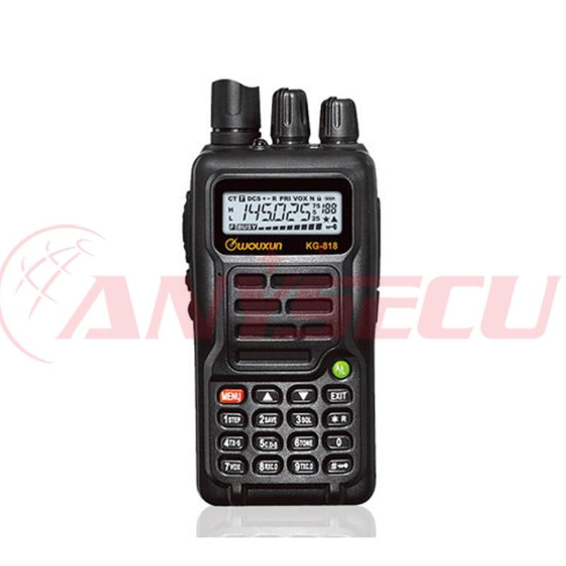 2015 Nuovo WOUXUN KG-818 199CH Palmare Walkie Talkie UHF 400-480 MHz Two Way Radio2015 Nuovo WOUXUN KG-818 199CH Palmare Walkie Talkie UHF 400-480 MHz Two Way Radio