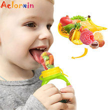 1Pcs Fresh Food Nibbler Baby Pacifiers Baby Pacifier Fruit Infant Food  Nipples Silicone Soother Nipple Feeding Teat Pacifier baby nimbler pacifier clip for fruit infant food nibbler holder nipples silicone soother nipple feeding teat pacifier bottles