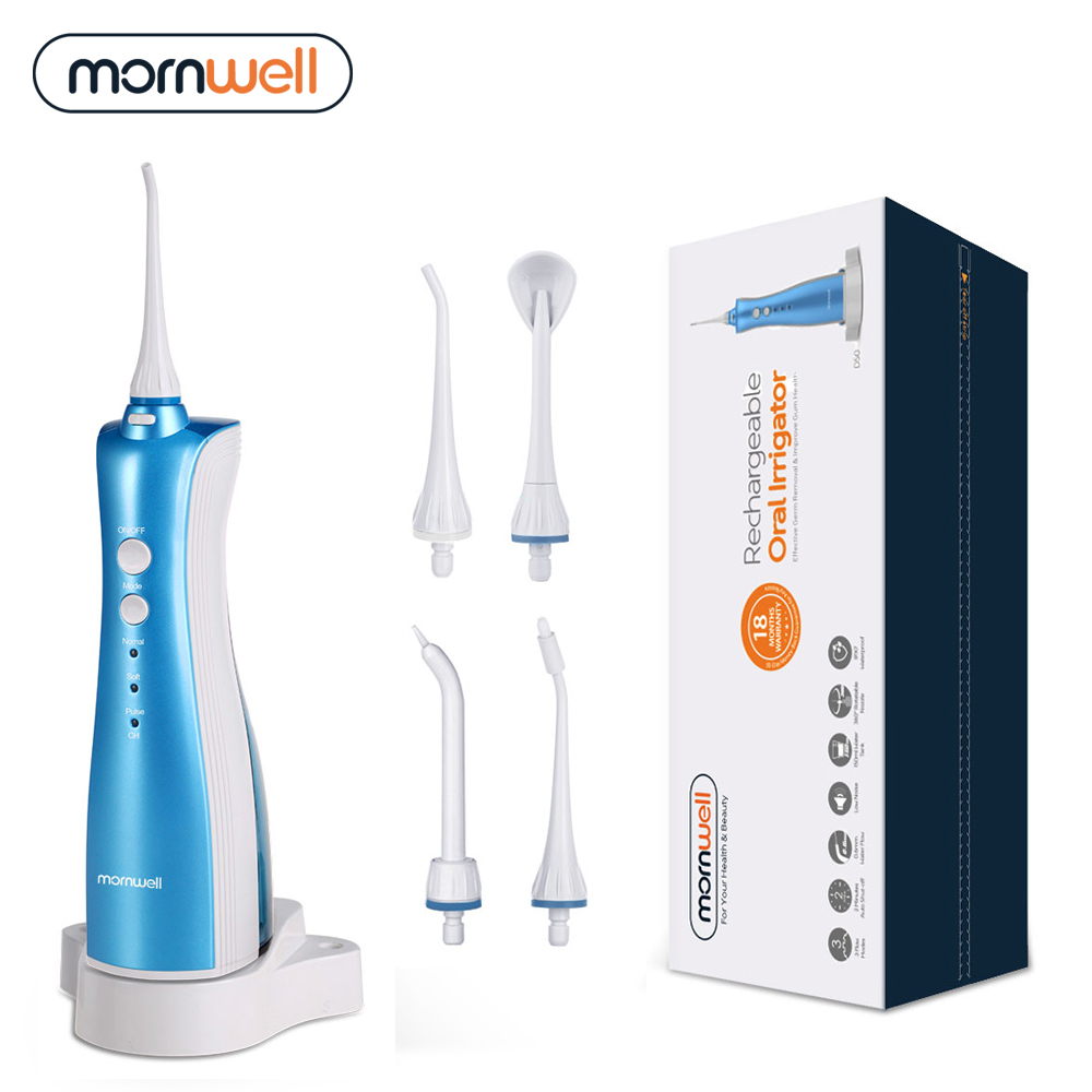 Oral Irrigators rechargeable water flosser teeth clean font b portable b font dental water jet inductive