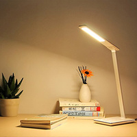 New Wireless Charging LED Lamp Table Lamp Brightness Adjustable Office Lamp With USB Charging Port For iphone X Samsung