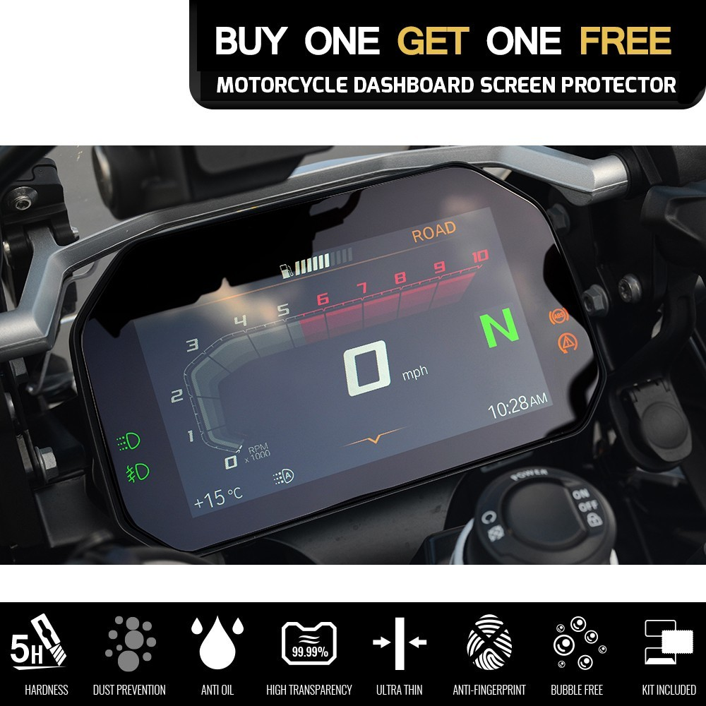 Для BMW R 1200 GS Adventure 1200GSA R1200 2018 мотоциклетная кластерная Защитная пленка для экрана R1200GS аксессуары