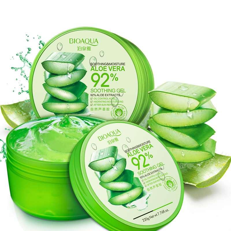 220g Whitening Natural Aloe Vera Smooth Gel Acne Treatment Face Anti-Aging Cream Moisture Tender Skin Care Toiletry Kits