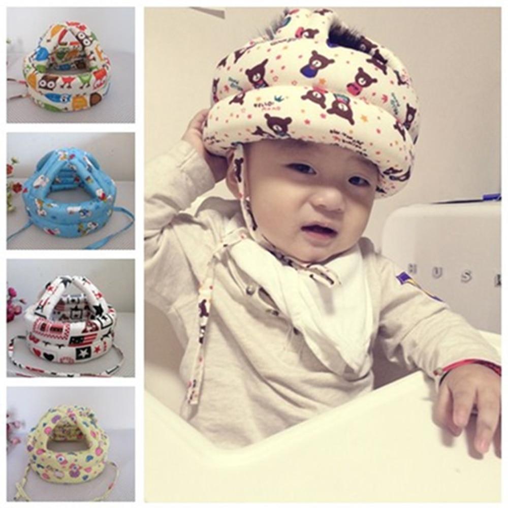 Baby Safety Newborn Protect Head Helmet Hats For Kids Prevent Impact Walk Wrestling Sport Baby Play Adjustable защитный детский шлем