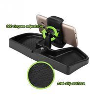 Soporte de teléfono móvil para montaje del salpicadero del coche, altamente flexible, giratorio 360, soporte de soporte GPS para Jeep Renegade 2013-2019, alta calidad