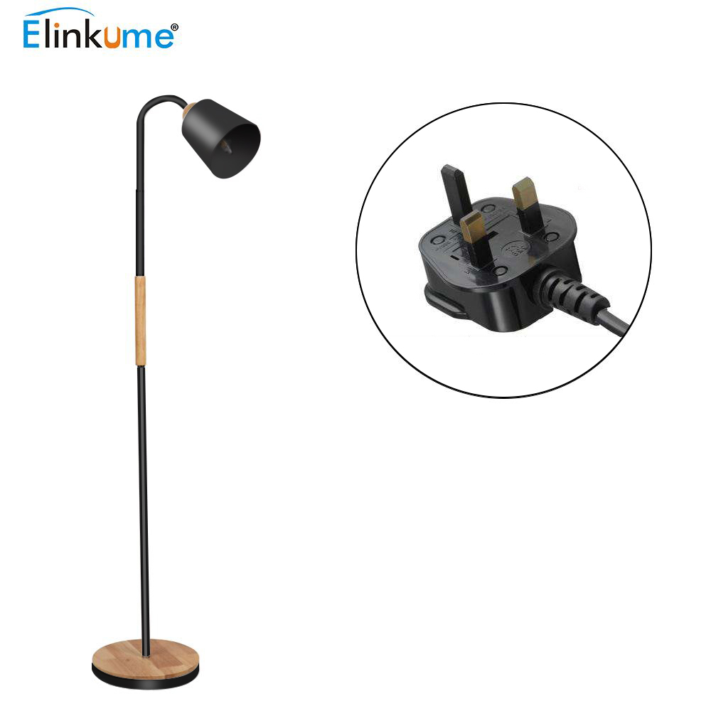 E27 Modern Style Black 40W Gooseneck Reading Floor Lamp Reading Office LightE27 Modern Style Black 40W Gooseneck Reading Floor Lamp Reading Office Light