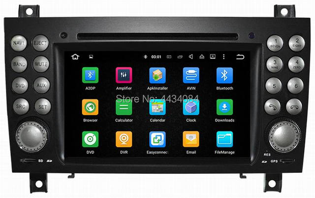 Ouchuangbo PX5 áudio estéreo rádio android 9 0 MB para Mercedes Benz SLK  171 2004 2011 com swc wifi BT núcleos 8 4 + 32