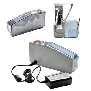 Image 4 - Vktech portátil mini contador de dinheiro acessível para a maioria das notas de moeda bill máquina de contagem de dinheiro EU V40 equipamentos financeiros plugue da ue