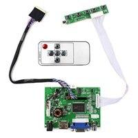 Hdmi vga 2av lcd 보드 40 핀 lvds 인터페이스 lcd 화면 작동 11.6 인치 1366x768 N116B6-L04 b116xw01 v0 ltn116at02