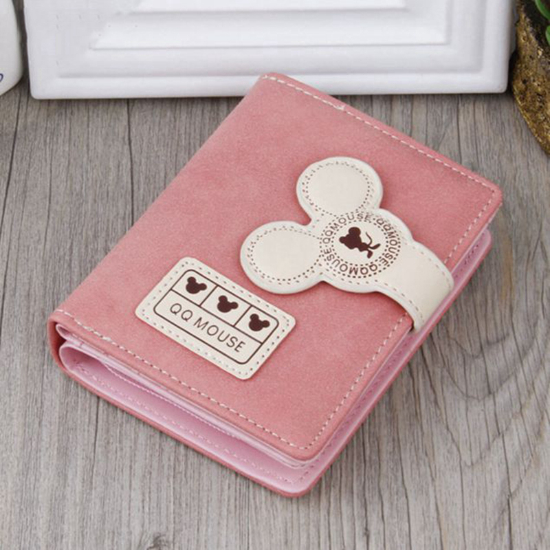 Women's wallet 2018 new fashion trend ladies wallet girl Cartoon Lovely holding bag high-end female models Multi layer Wallet