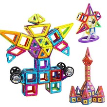 61 - 99 Unids Large Size Magnetic Building Blocks Blocs Designer Builder Toys Children Gift