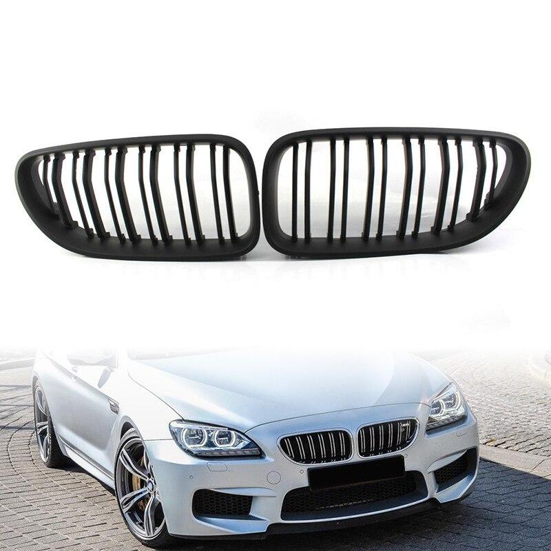 Exterior Front Protective Grilles Bumper Fit For BMW 6 Series F06/F12/F113 12-16 ABS PlasticsExterior Front Protective Grilles Bumper Fit For BMW 6 Series F06/F12/F113 12-16 ABS Plastics