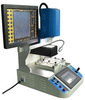 110V Automatic BGA Rework Station for Mobile Phone IC Repair with Optical Alignment System