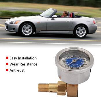 Wskaźnik ciśnienia oleju w paliwie samochodowym dla Honda Civic CRX Acura Mitsubishi Eclipse wskaźnik ciśnienia paliwa nowy tanie i dobre opinie VGEBY CN (pochodzenie) Car Fuel Pressure Gauge Aluminum alloy 163g Oil Pressure Gauge