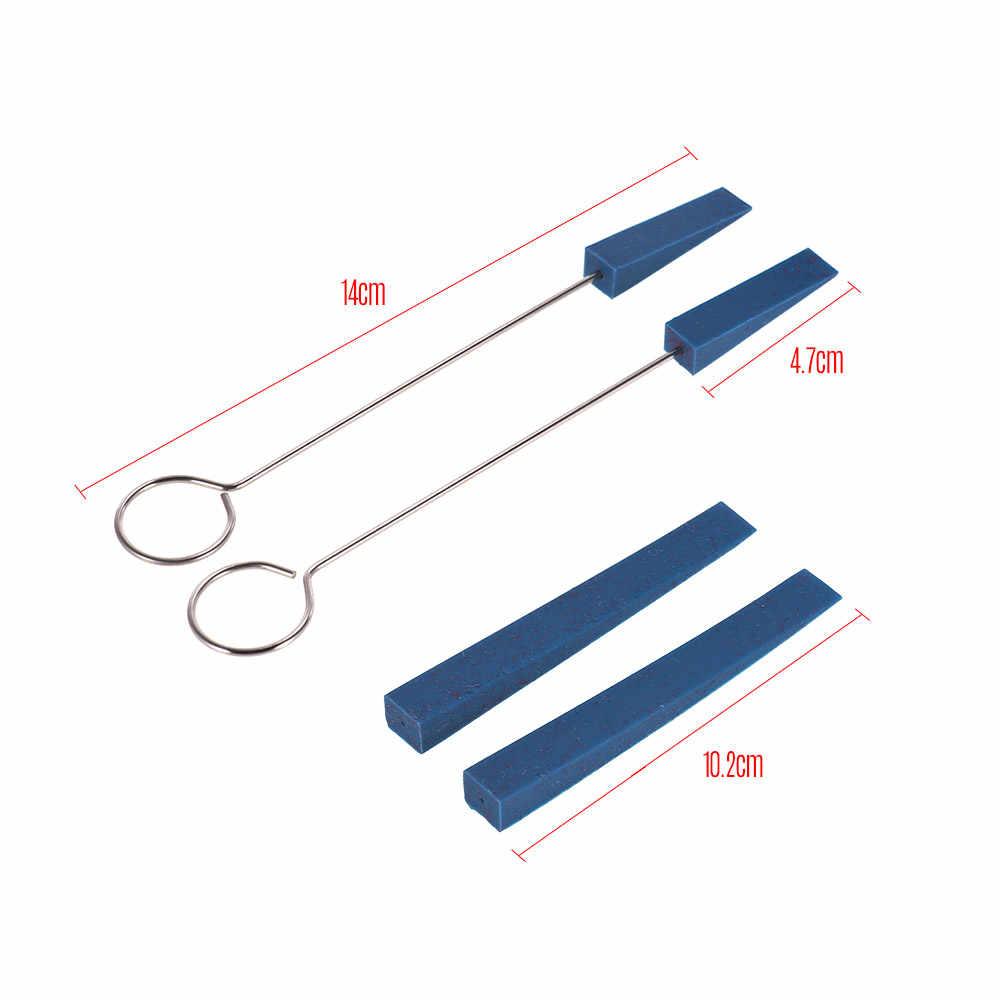 Profesional Piano Tuner Kit Tuning Alat Set Wrench Palu Karet Bisu Merah Merasa Temperamen Strip dan Lingkaran Memperbaiki Alat