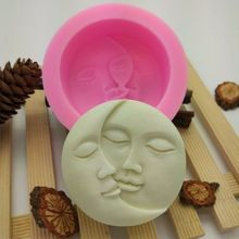 Faroot Moon Sun мыльная форма Гибкая силиконовая форма для конфет форма для выпечки пирожных с шоколадной начинкой