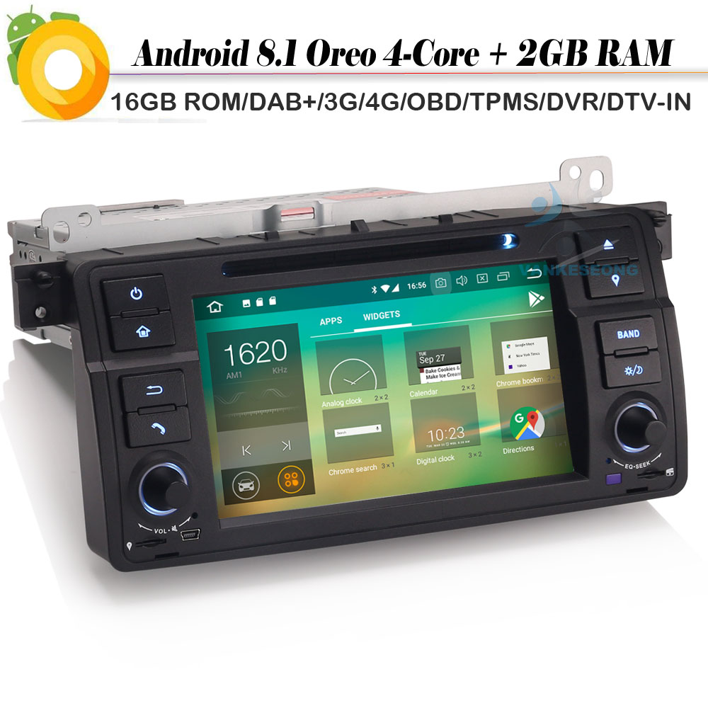 2 din android 8 1 autoradio car stereo gps navi dvd dab. Black Bedroom Furniture Sets. Home Design Ideas