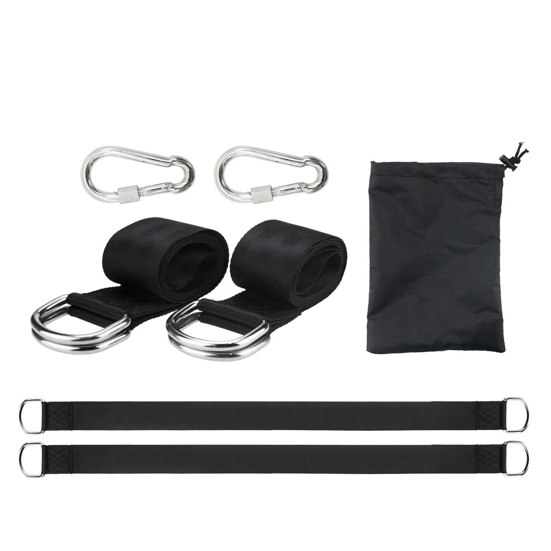 Ourdoor Hamak Swing Bring Polyester Hammock Portable Straps Park Accessories Carbine Belts Max 350kg