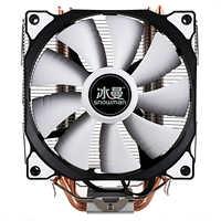 Bonhomme de neige refroidisseur de processeur Master 5 caloducs à Contact Direct système de refroidissement de la tour de gel ventilateur de refroidissement CPU avec ventilateurs PWM