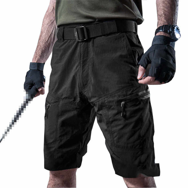 9512dd7f030 Mens Outdoor Climbing Sports Fast Dry Cargo Shorts Summer Hiking Hunting  Military Training Breathable Tactical Short
