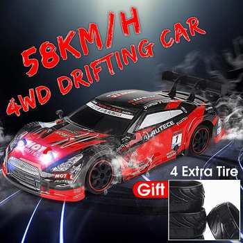 RC Car For GTR/Lexus 4WD Drift Racing Car Championship 2.4G Off Road Radio Remote Control Vehicle Electronic Hobby Toys