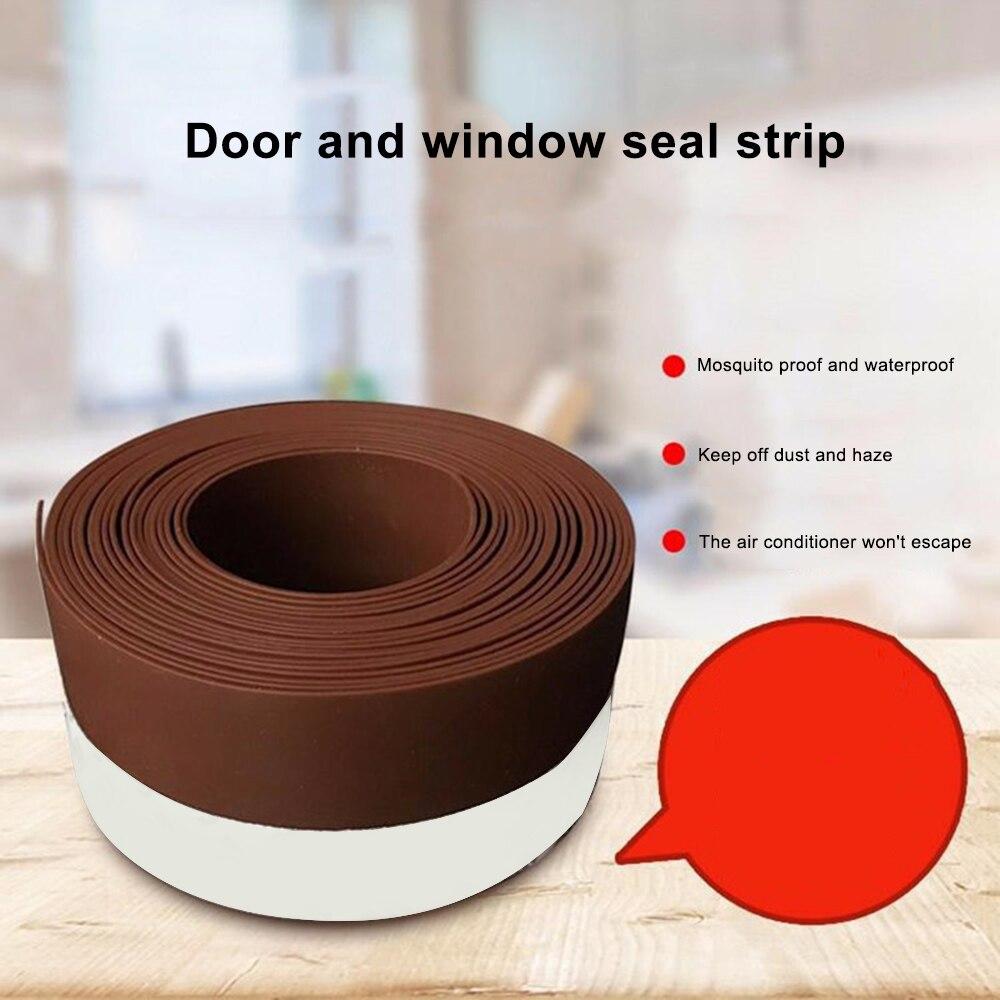25/35/45 Mm Door And Window Seals Door Bottom Windproof Insect-proof Window Insulation Adhesive Tape Hardware