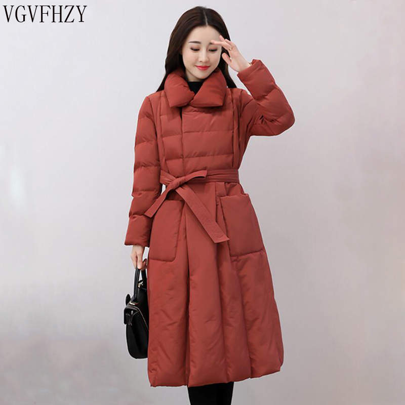 2018 New Winter Collection Women   Down     Coat   Jacket Warm High Quality Woman   Down   Parka Female Thickening Big Plus Size Outerwear