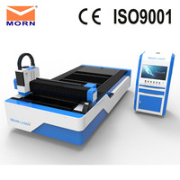 MORN L1350F Laser Cutting Machine 1530 CNC Laser Cutter Made in China with Automatic Up down Worktable