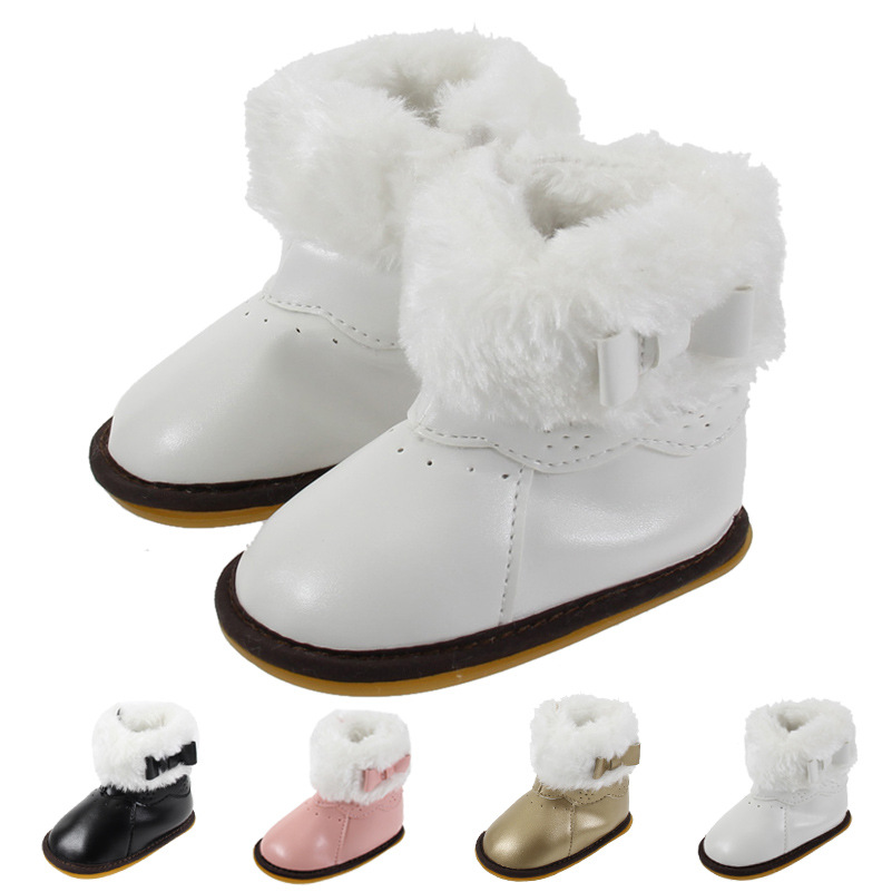 New Baby Snow Boots Baby Boots Warm Winter Snow Boots Non-slip Toddler Shoes For Babies