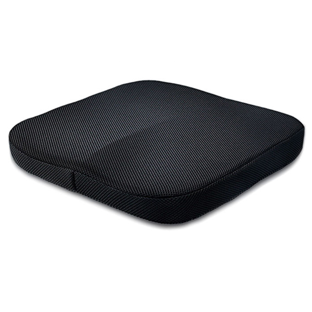 Comfort Office Chair Car Seat Cushion Non-Slip Foam Cushion For Back 41*41*5cm
