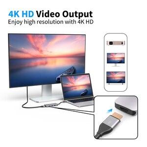 Image 5 - Dodocool 7 in 1 Multifunzione USB C Hub con 4K Uscita HD SD/TF PD di Ricarica 3 porte USB 3.0 per MacBook per MacBook Pro e Più