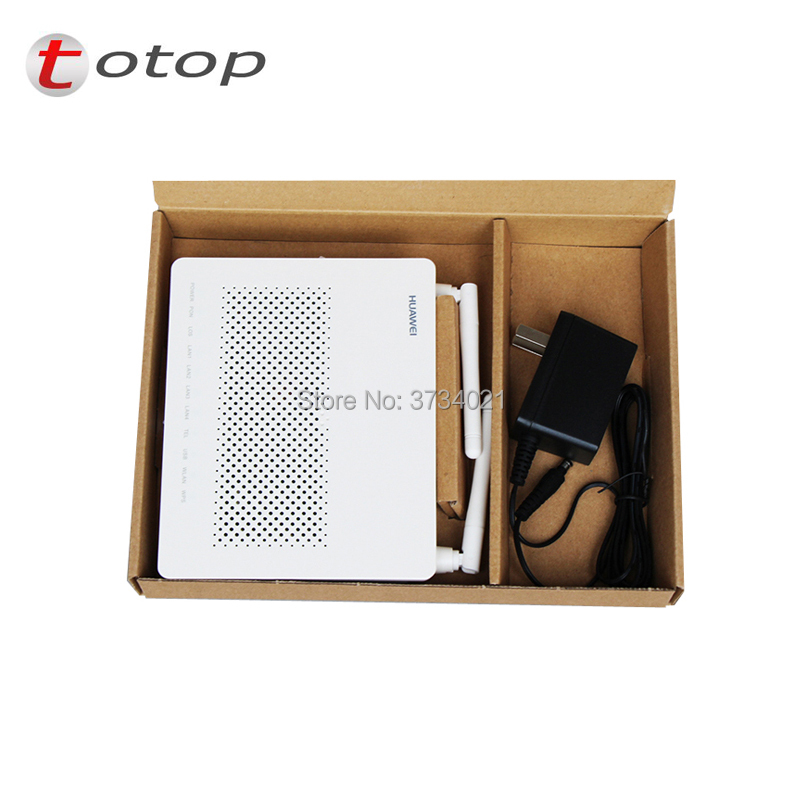 FREE SHIPPING Expacket 4pcs Second Hand Huawei GPON ONU HG8546M With 4*LAN Ports+1*phone Port+wifi, 99% New HG8546M GPON ONT